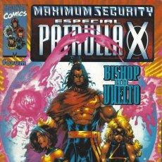 Cómics: ESPECIAL PATRULLA X. MAXIMUM SECURITY. Lote 297025208
