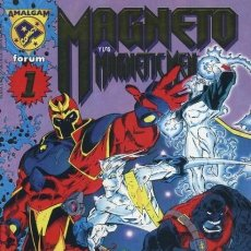 Cómics: AMALGAM COMICS Nº 05. MAGNETO Y LOS MAGNETIC MEN (E.C.= 9/10). Lote 297027708