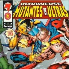 Cómics: ULTRAVERSE: MUTANTES VS. ULTRAS. ESPECIAL X-MEN. Lote 297029978