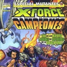 Cómics: ESPECIAL MUTANTES Nº 10. X-FORCE / CAMPEONES. Lote 297047523
