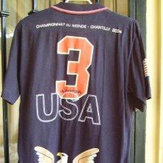 Coleccionismo deportivo: POLO ORIGINAL Y AUTÉNTICO EQUIPO USA. CAMPEONATO DEL MUNDO CHANTILLY 2004. Lote 26560238