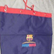 Coleccionismo deportivo: BOLSA MACUTO F.C. BARCELONA. Lote 26894619