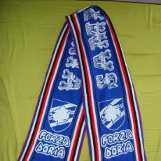 Coleccionismo deportivo: BUFANDA SAMPDORIA - AÑOS '80. Lote 19120178