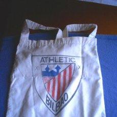 Coleccionismo deportivo: BOLSA DE LONA ATHLETIC DE BILBAO. Lote 25004611