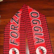 Coleccionismo deportivo: BUFANDA U.S FOGGIA - AÑOS ´90. Lote 25151423