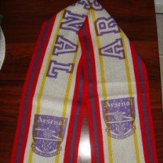 Coleccionismo deportivo: BUFANDA ARSENAL - AÑOS '80. Lote 25173462