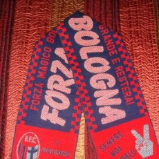 Coleccionismo deportivo: BUFANDA BOLOGNA F.C - AÑOS '90. Lote 25496433