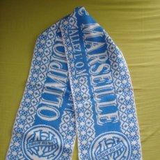 Coleccionismo deportivo: BUFANDA OLIMPIQUE MARSEILLE - AÑOS '90. Lote 27769989