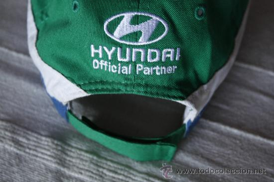 Coleccionismo deportivo: GORRA 2010 FIFA WORLD CUP SOUTH AFRICA. HYUNDAI OFFICIAL PARTNER. - Foto 3 - 78073287