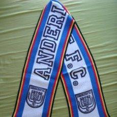 Coleccionismo deportivo: BUFANDA RSC ANDERLECHT - AÑOS '80. Lote 29483879