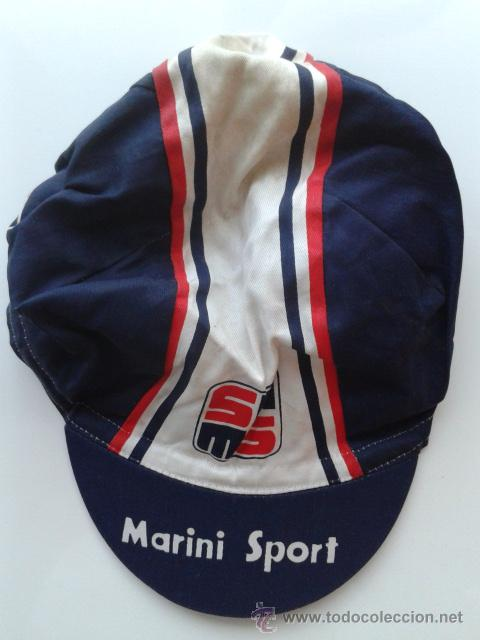 GORRA CICLISTA DEL EQUIPO MARINI SPORT CICLISMO (Coleccionismo Deportivo - Ropa y Complementos - Complementos deportes)
