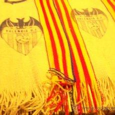 Coleccionismo deportivo: ANTIGUA BUFANDA VALENCIA CLUB DE FUTBOL. Lote 31866611