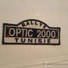 Coleccionismo deportivo: PARCHE DE TELA DEL RALLYE 'OPTIC 2000', TÚNEZ.. Lote 31875844