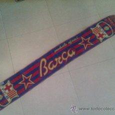 Coleccionismo deportivo: BUFANDA F C BARCELONA. Lote 33244405