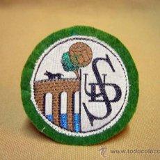 Coleccionismo deportivo: ESCUDO, ESCUDO DE TELA, PARCHE, U.D. SALAMANCA FUTBOL, 6 X 6 CM. Lote 35119855