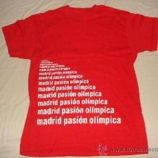 Coleccionismo deportivo: CAMISETA OLÍMPICA MADRID 2012. Lote 36323656