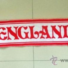 Coleccionismo deportivo: BUFANDA SCARF SCIARPE FUTBOL ENGLAND INGLATERRA FOOTBALL VINTAGE SELECCION.. Lote 38033705