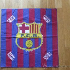 Coleccionismo deportivo: PAÑUELO FCB, FUTBOL CLUB BARCELONA, . Lote 38189933