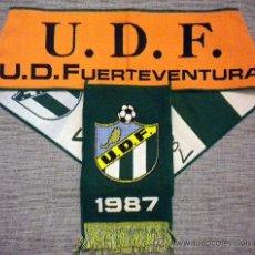 Coleccionismo deportivo: BUFANDA SCARF SCIARPE FUTBOL U.D. FUERTEVENTURA CLUB FOOTBALL. Lote 114828927