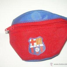 Coleccionismo deportivo: BOLSITO..MUÑEQUERA CON CREMALLERA...........F.C.BARCELONA.. Lote 39368240
