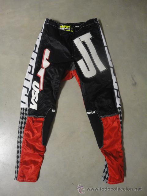 Pantalon jt racing usa motociclismo motocross e - Sold