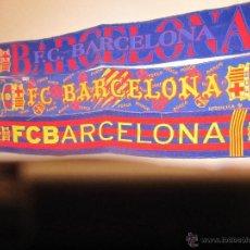 Coleccionismo deportivo: 3 BUFANDAS - F.C. BARCELONA - USADAS. Lote 40946645