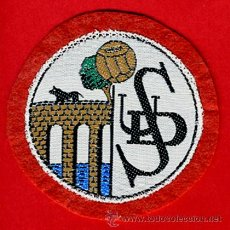 Collezionismo sportivo: ESCUDO FUTBOL PARA CAMISETA, EN TELA , ANTIGUO, SALAMANCA , ORIGINAL. Lote 41384910