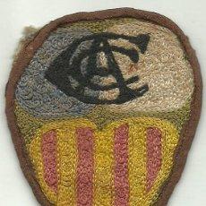 Coleccionismo deportivo: (F-890)ESCUDO DE CAMISETA DE FUTBOL DE EQUIPO QUE PERTENECIO FCO.BETANCOURT,EX-C.F.BARCELONA. Lote 41581953