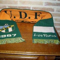 Coleccionismo deportivo: BUFANDA U.D.F.UNION DEPORTIVA FUERTEVENTURA 1987 LOS POZOS.. Lote 41737661