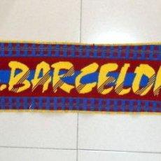 Coleccionismo deportivo: BUFANDA SCARF SCIARPA FUTBOL FC BARCELONA TARA ANTIGUA VINTAGE AÑOS 90 FOOTBALL. Lote 44210722