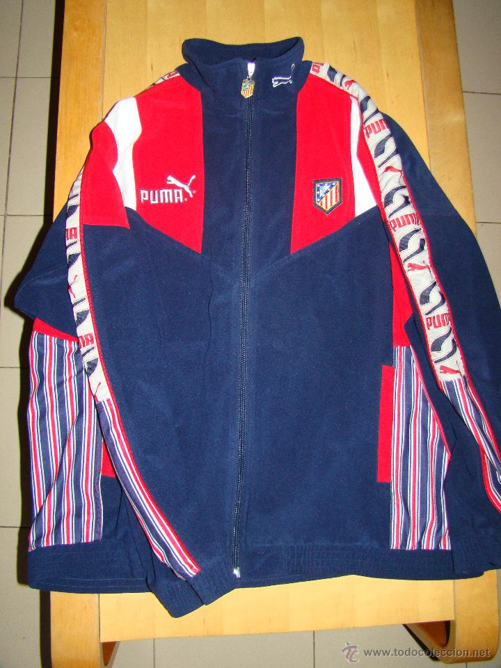 Antigua chaqueta puma del atletico de madrid - Vendido en Venta ... 2a09e06c38b34