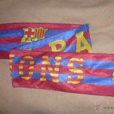 Coleccionismo deportivo: BUFANDA FÚTBOL CLUB BARCELONA. Lote 45030585