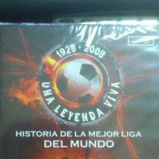 Coleccionismo deportivo: DVD 3: HISTORIA DE LA MEJOR LIGA DEL MUNDO - DI STEFANO CONTRA KUBALA 1950-1955. PRECINTADO. NUEVO.. Lote 46115305