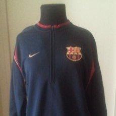 Coleccionismo deportivo: SUDADERA CHANDAL DEPORTE NIKE - TALLA S - FC BARCELONA - - NUEVO A ESTRENAR. Lote 46641403