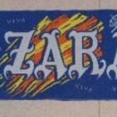 Coleccionismo deportivo: BUFANDA REAL ZARAGOZA SCARF SCIARPA ECHARPE. Lote 46681844