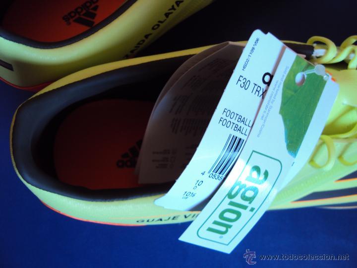 Coleccionismo deportivo: (F-010)BOTAS FUTBOL ORIGINALES,FIRMADAS,MAXIMO GOLEADOR SELECCION ESPAÑOLA,DAVID VILLA,MATCH UN WORN - Foto 11 - 47054597