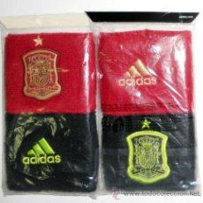 Collectionnisme sportif: PACK MUÑEQUERAS BRACER ADIDAS SELECCION ESPAÑA NUEVAS NEW FUTBOL FOOTBALL SPAIN. Lote 189706850