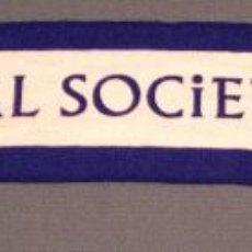 Coleccionismo deportivo: BUFANDA REAL SOCIEDAD FUTBOL. Lote 47362270