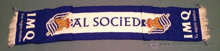Coleccionismo deportivo: BUFANDA REAL SOCIEDAD FUTBOL - Foto 2 - 47362270