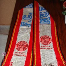 Coleccionismo deportivo: BUFANDA F.C BAYERN MUNCHEN AÑOS ' 80. Lote 15342111