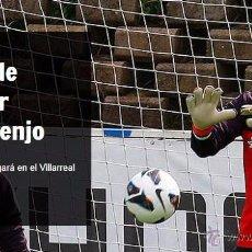 Coleccionismo deportivo: (F-0560)GUANTES ORIGINALES DE SERGIO ASENJO,AT.MADRID,MATCH WORN. Lote 49241726