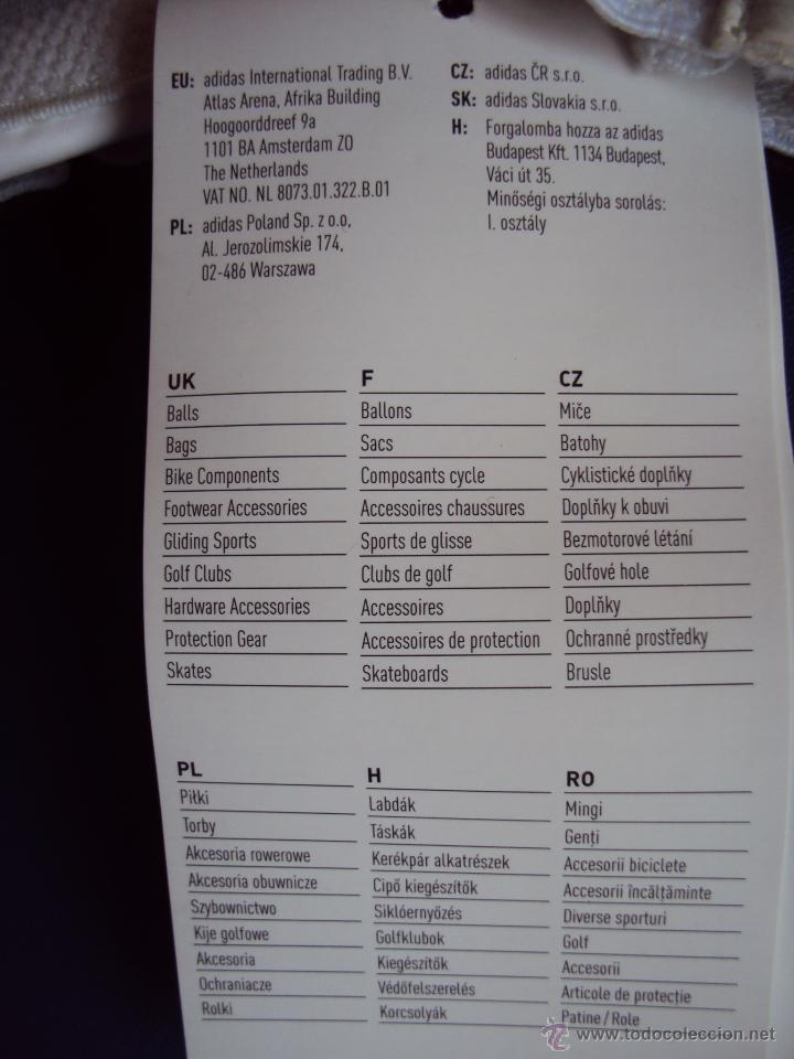 Coleccionismo deportivo: (F-0601)GUANTES PORTERO FUTBOL,MARCA,REEBOOK VALDE II IKER CASILLAS - Foto 6 - 49616881