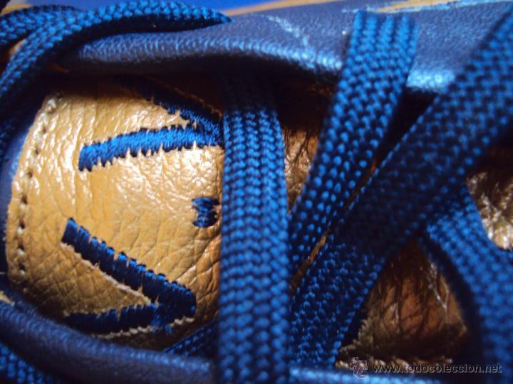 Coleccionismo deportivo: (F-0680)BOTAS DE VICTOR VALDES,F.C.BARCELONA,MODELO CHAMPIONS 2006(PARIS),NIKE ZOOM,MATCH UN WORN - Foto 14 - 49651706