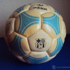 Coleccionismo deportivo: (XCS-06)BALON ADIDAS TANGO ROSARIO,EDICION ESPECIAL F.C.BARCELONA,FIRMAS MARADONA,QUINI,MENOTTI,ETC.. Lote 49825166