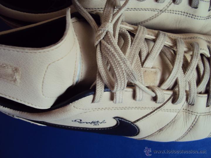 Coleccionismo deportivo: (F-066)BOTAS DE RONALDINHO GAUCHO,F.C.BARCELONA,EDICION LIMITADA,NO MATCH WORN - Foto 6 - 49871351