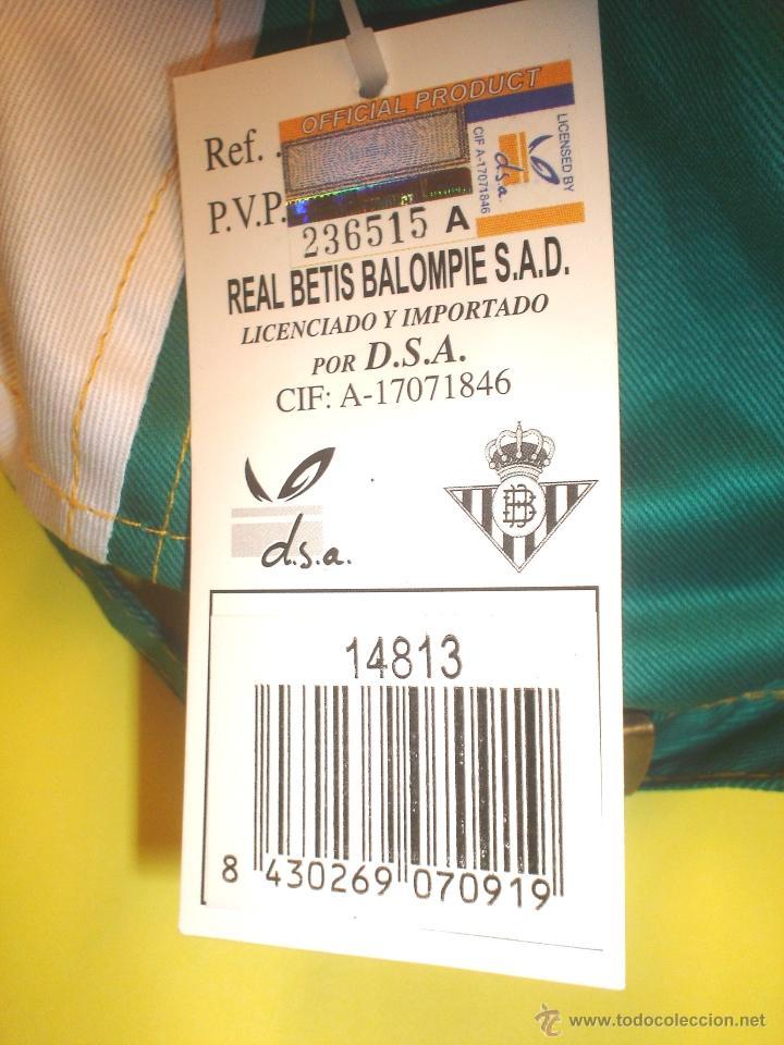 Coleccionismo deportivo: GORRA OFICIAL REAL BETIS BALOMPIE - CON RADIO INCORPORADA - Foto 5 - 105708196