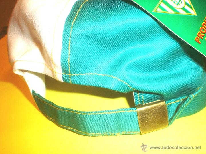 Coleccionismo deportivo: GORRA OFICIAL REAL BETIS BALOMPIE - CON RADIO INCORPORADA - Foto 8 - 105708196