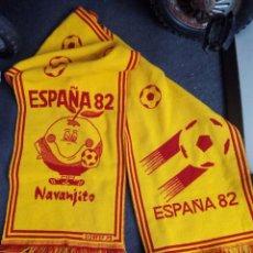 Coleccionismo deportivo: BUFANDA MUNDIAL FUTBOL ESPAÑA 82. Lote 51632447