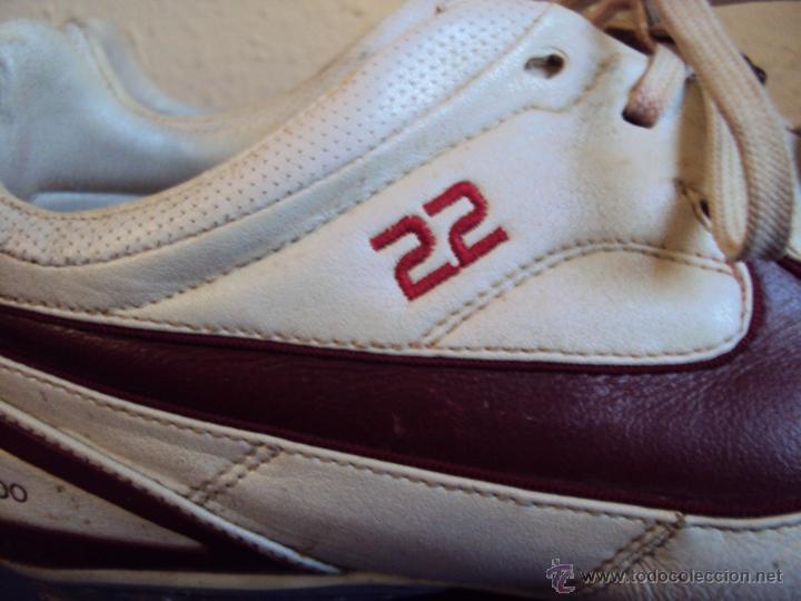 Coleccionismo deportivo: (F-1242)BOTAS DE ABIDAL,F.C.BARCELONA,MARCA NIKE TIEMPO,MATCH WORN - Foto 3 - 53550940