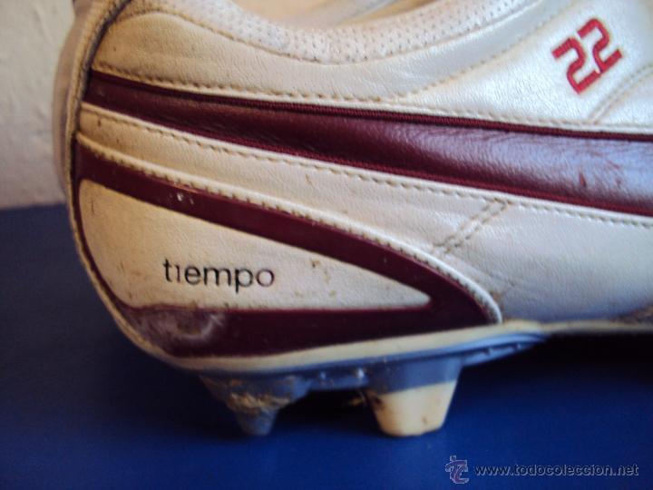 Coleccionismo deportivo: (F-1242)BOTAS DE ABIDAL,F.C.BARCELONA,MARCA NIKE TIEMPO,MATCH WORN - Foto 4 - 53550940